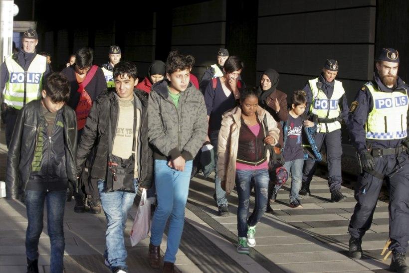 Bild: Rootsi politsei kaotas Malmös kontrolli