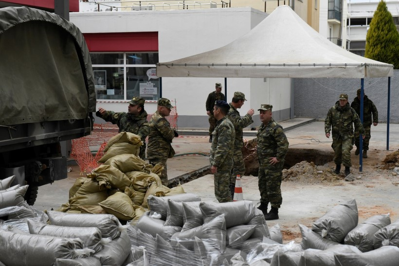 Sõjaaegne pomm sundis Kreeka linna evakueeruma