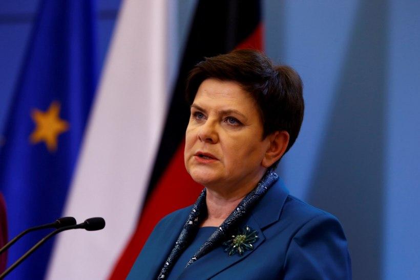 Poola peaminister sattus autoõnnetusse
