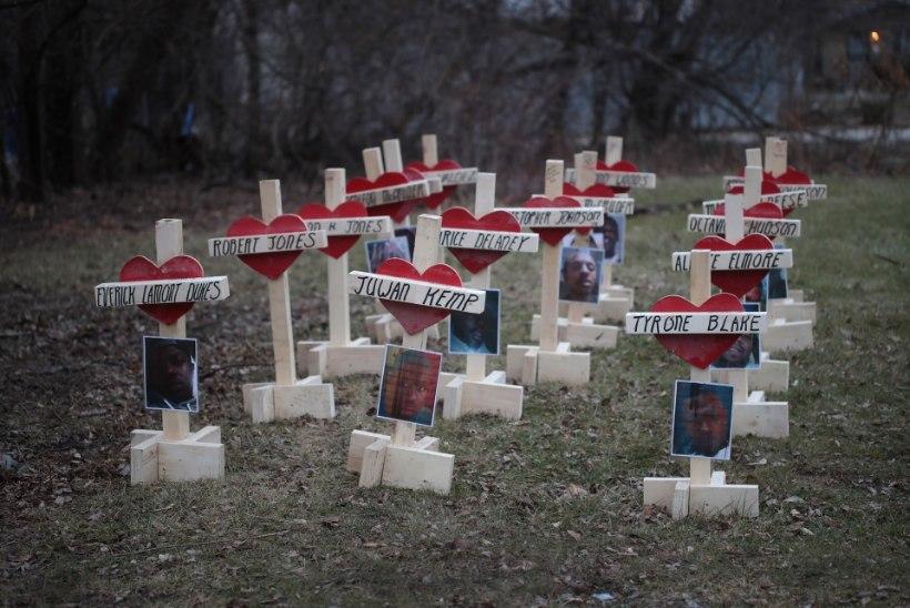 Vägivaldses Chicagos tulistati kahte koolitüdrukut pähe