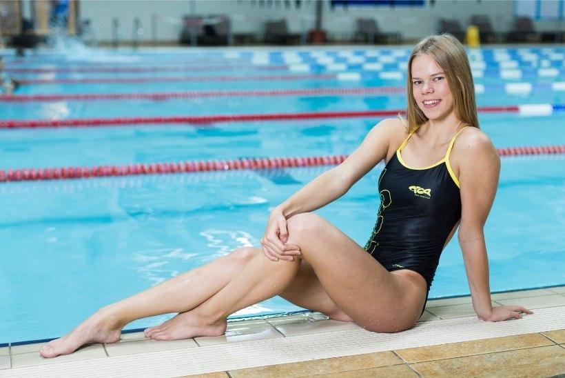 Kertu Kaare – multitalent, kes särab nii ujuja, laulja kui ka kooliõpilasena