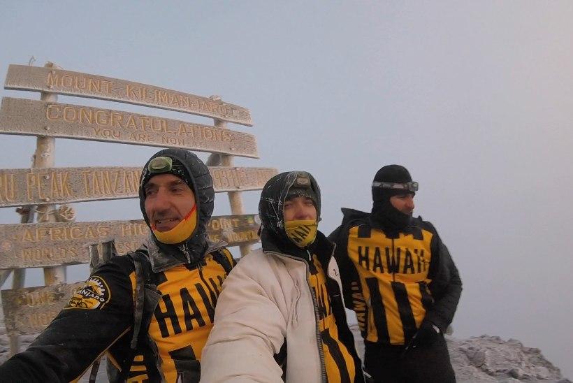 Norman Salumäe: Kilimanjaro vallutamine nõudis tohutut tahtejõudu!