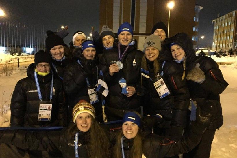 Täna Euroopa Noorte Olümpiafestivalil: stardis 9 Eesti sportlast