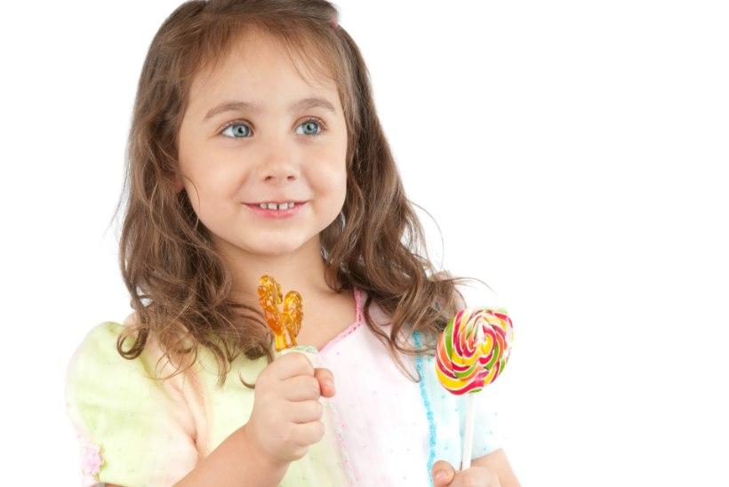 Kui palju võivad väikesed lapsed magusat süüa?