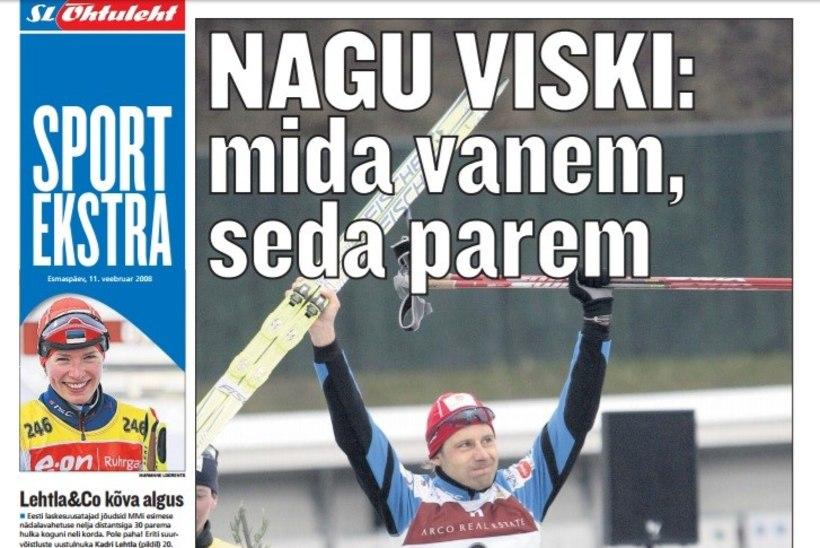 VANAD HEAD AJAD! Eelmisel 13-l Otepää MK-etapil langes Eesti suusatajate saagiks 1 võit ja 10 poodiumikohta