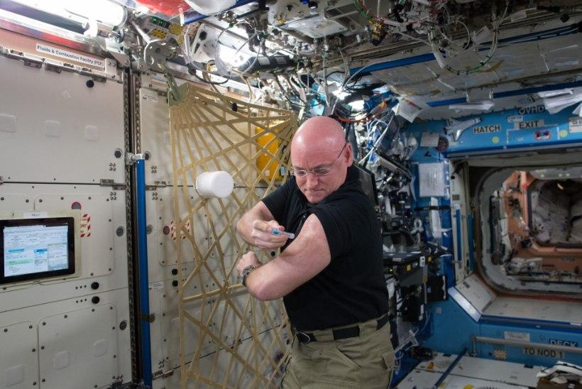 Kaksikute eksperiment kinnitab: kosmoses olek muudab meie geene