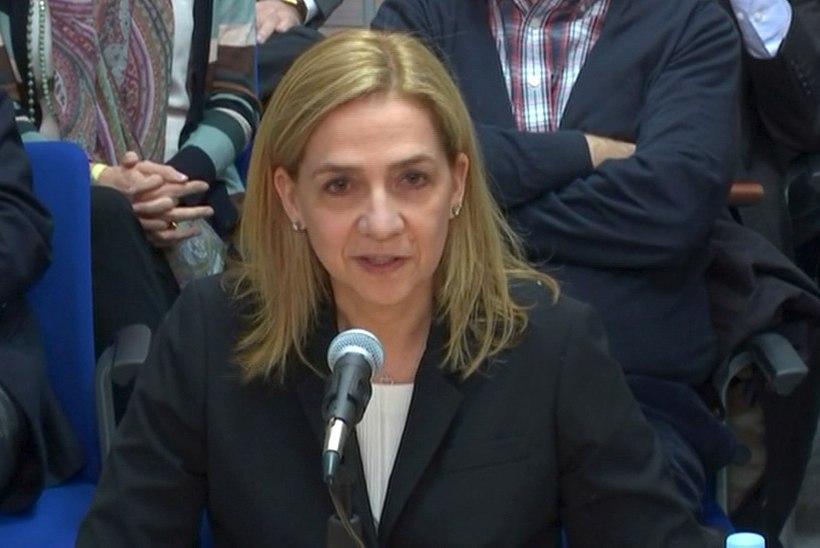 Printsess Cristina vabastati viimaks maksupettusega seotud süüdistustest