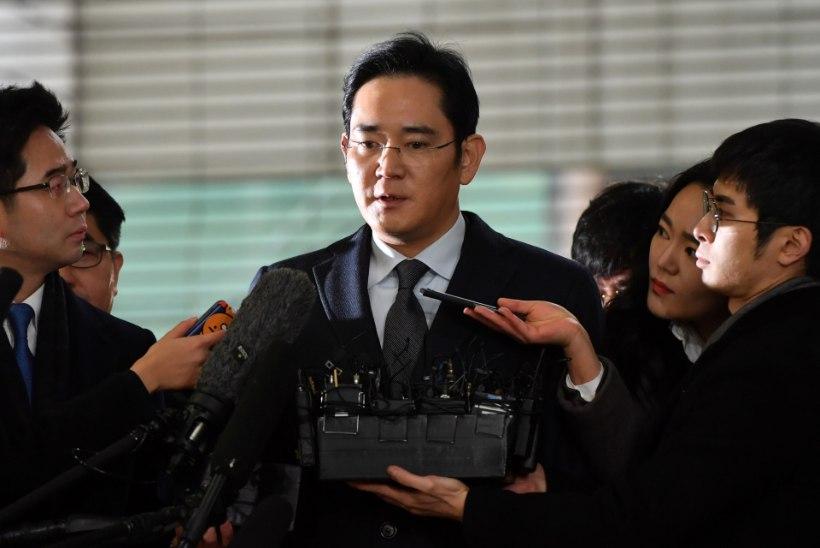 Vahistati Samsungi pärija Lee Jae-yong