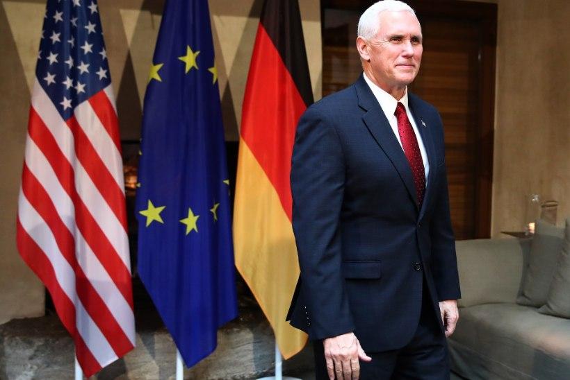 USA asepresident: seisame Euroopa kõrval nüüd ja alati
