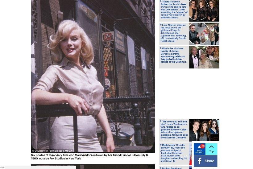 VAPUSTAV PALJASTUS: Marilyn Monroe ootas Prantsuse filmitähelt last!