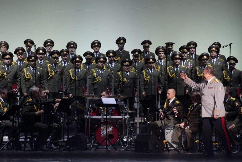 Tsahkna Punaarmee ansamblile: Vene sõdurid ei ole oodatud