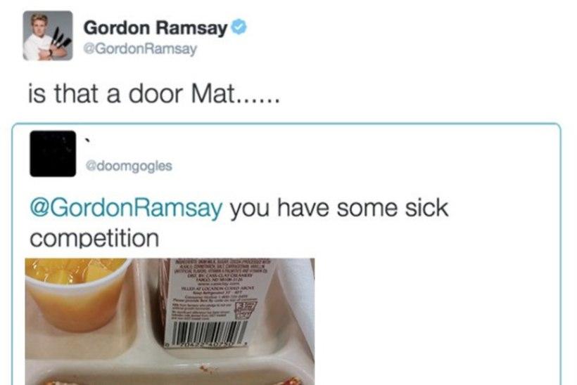 """Meisterkokk Gordon Ramsay hindab toite ka Twitteris: """"See on nii toores, et jookseb ikka veel põllu peal ringi!"""""""