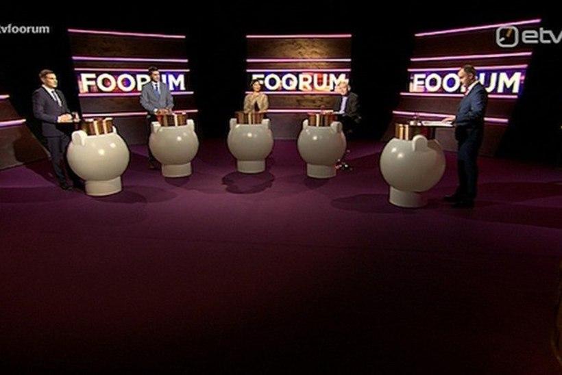 """""""Foorum""""   Debatt riigiasutuste kolimise teemal läks kuumaks, saatejuht Andres Kuusk: Reinsalu, te olete täna täiesti talumatu!"""