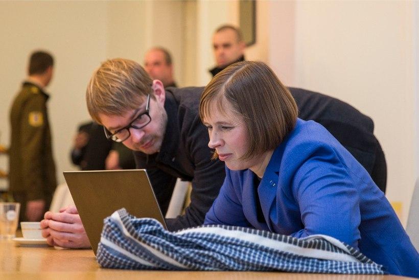 President Kaljulaid sõidab nädalaks puhkusele
