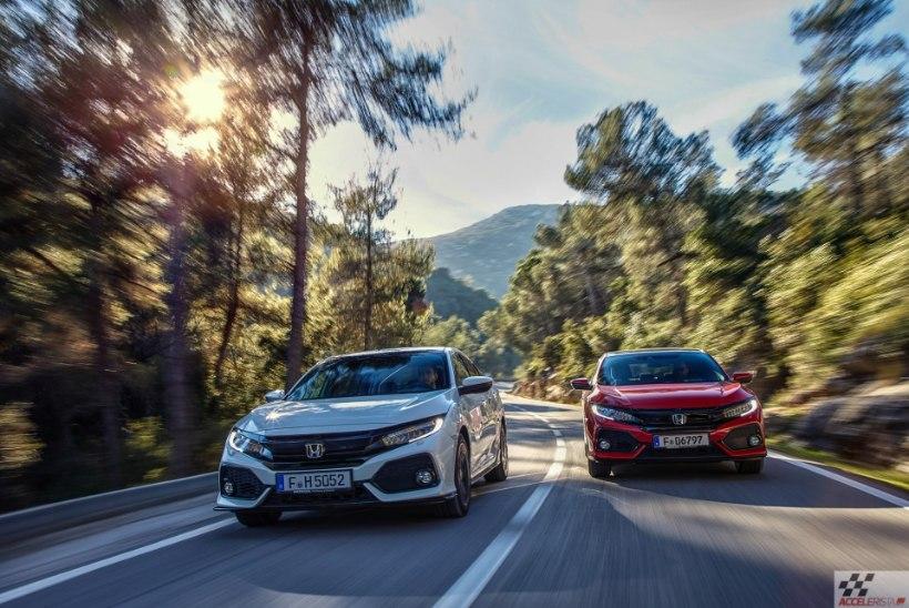Honda Civic: kümnes generatsioon on elusuuruses ägedamgi kui kujutlustes!