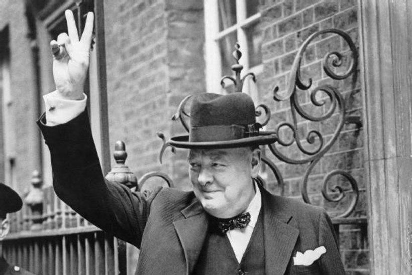 Juba Churchill uskus maavälisesse ellu