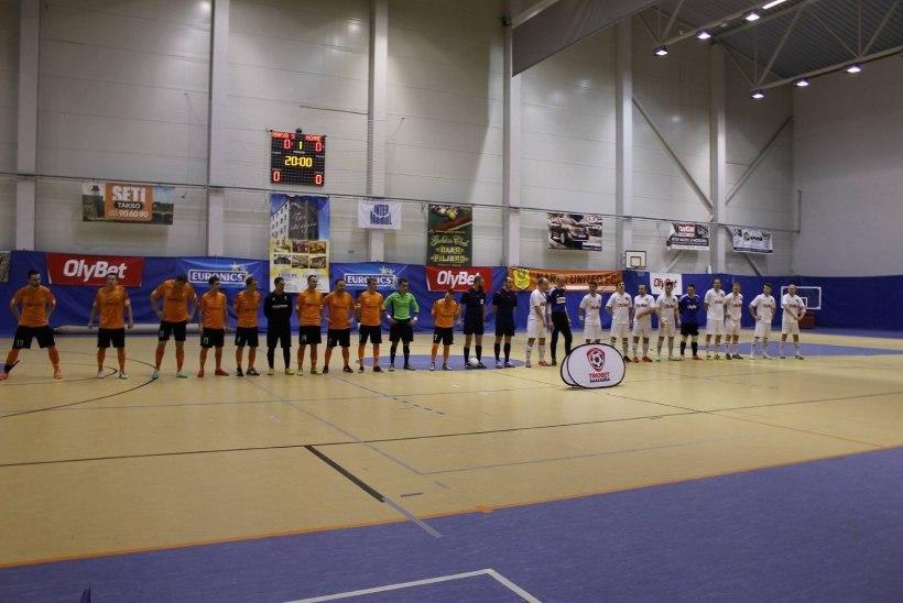 Õhtuleht näitab saalijalgpalli Eesti meistrivõistluste otsustavaid mänge