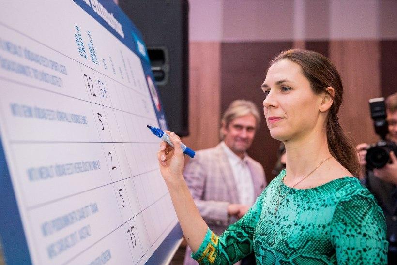 Vehkleja Irina Embrich kätlemisstseremoonial: kõik oli hea, nii presidendi kõne kui kontsert!