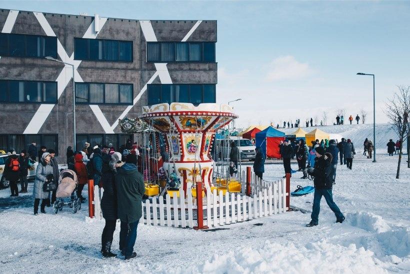 GALERII   Tallinna Lasnamäe linnaosa valitsus tähistas vastlapäeva