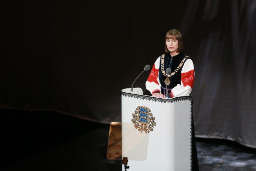 President Kersti Kaljulaid: pühade ajal saab kõige rohkem peksa!