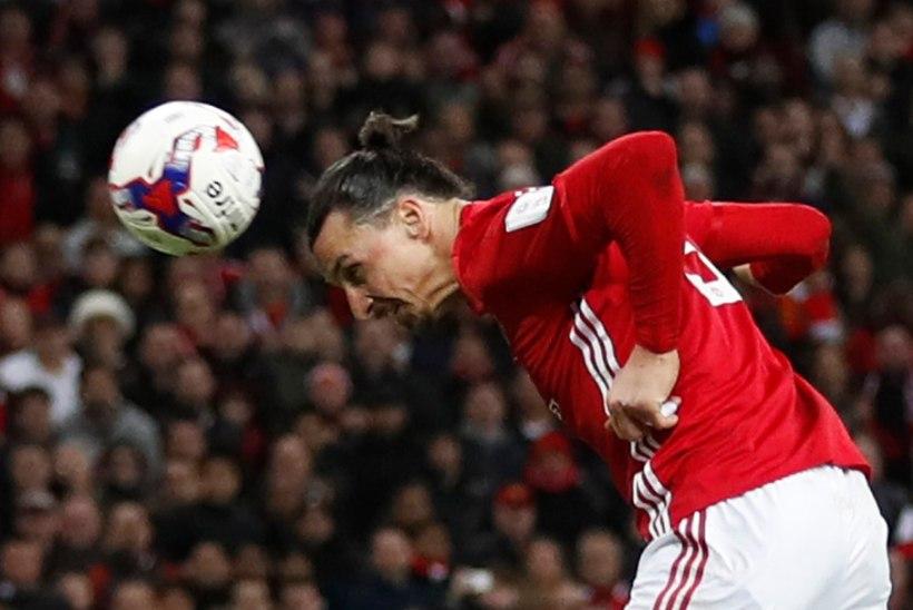 VIDEO | Kõva vana: Zlatani kaks väravat tõid Manchester Unitedile karika