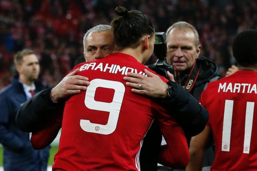 Mourinho: vastane vääris lisaaega, aga Zlatan tõi karika meile