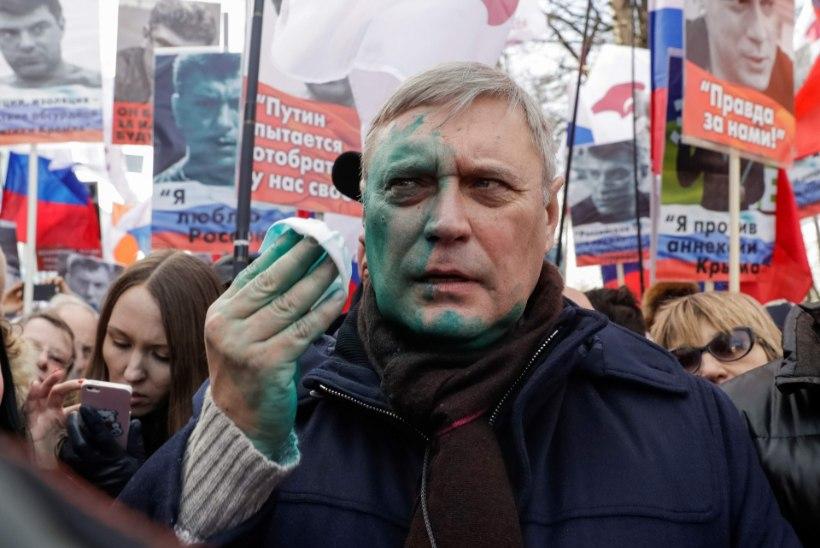 Tuhanded marssisid Putini vastu