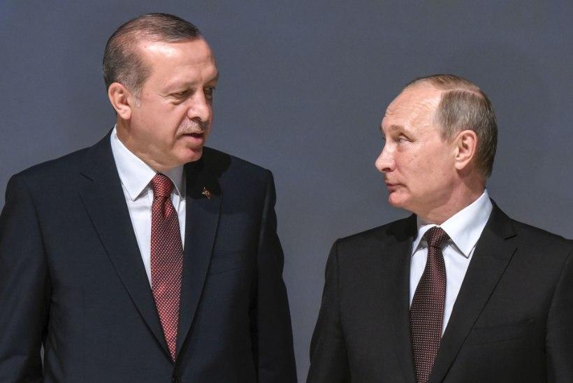 Erdogan külastab märtsis Putinit