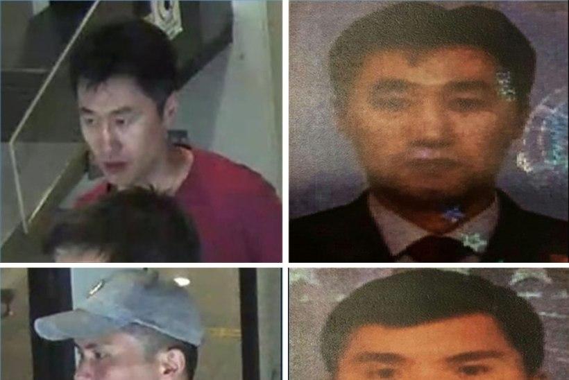Neli Kim Jong-nami mõrvaga seostatavat on Põhja-Korea spioonid