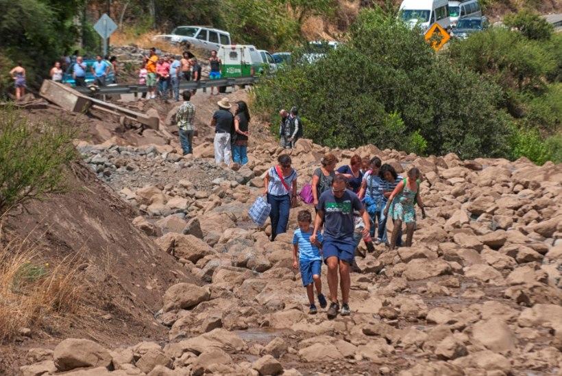 Tšiilis on miljonid inimesed puhta joogiveeta