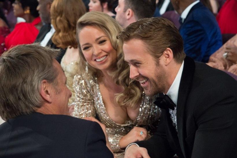 Ryan Goslingi rinnakas õde lõi Oscarite galal ohtralt laineid