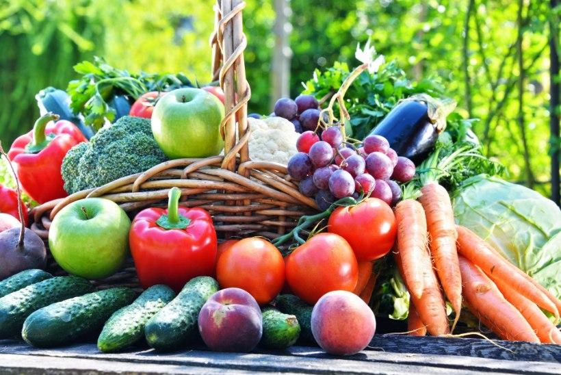 Teadlased soovitavad süüa 10 portsjonit puu-ja köögivilju päevas