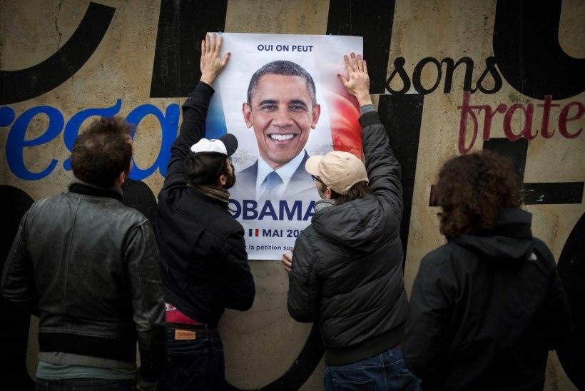 Prantslased nõuavad presidendiks Obamat
