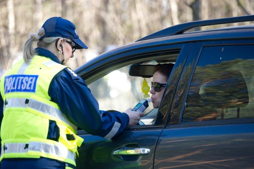 Politsei: karistus ei lahenda joobes juhtimise probleemi