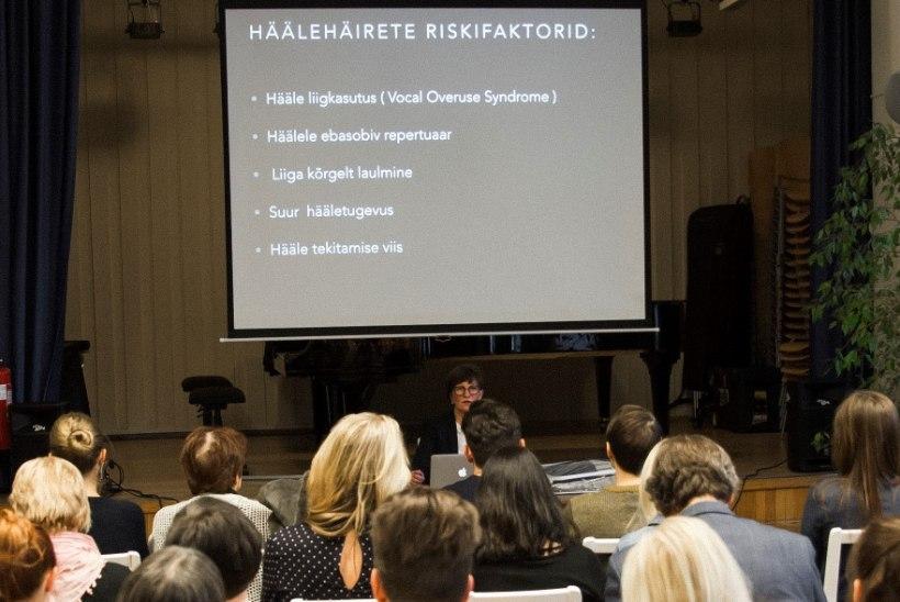 Ida-Tallinna keskhaigla hääleseadja: hääletraumadega on hädas juba väiksed lapsed