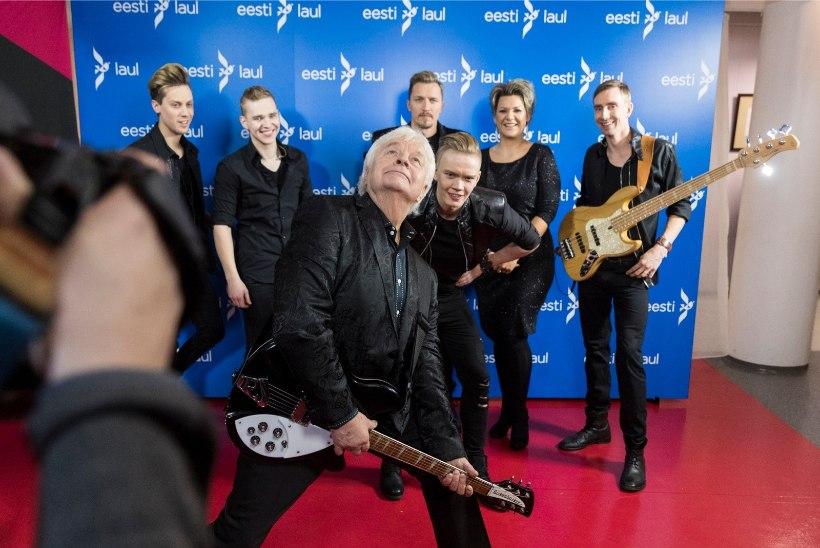 ÕHTULEHE GALERII   Eesti Laulu poolfinaalide proovid täies hoos