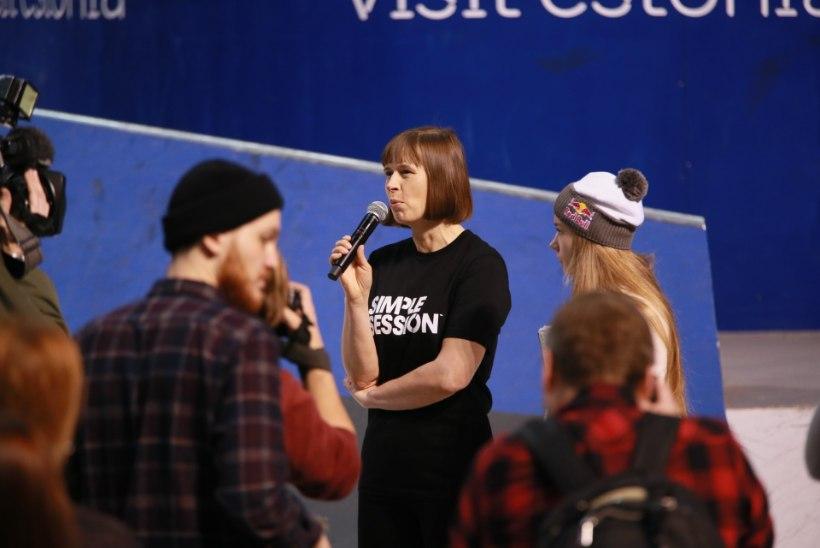 FOTOD | President Kaljulaid edastas Simple Sessionit avades võistlejatele tähtsa manitsuse