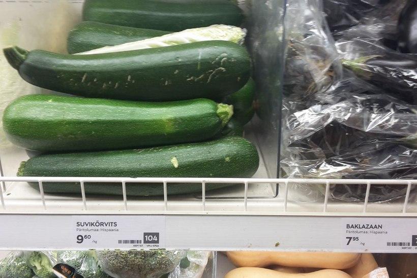Lõuna-Euroopa külm ilm on teinud köögiviljaletid hõredaks
