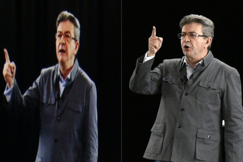 UUS TASE: Prantsusmaa presidendikandidaat ilmus rahva ette hologrammina