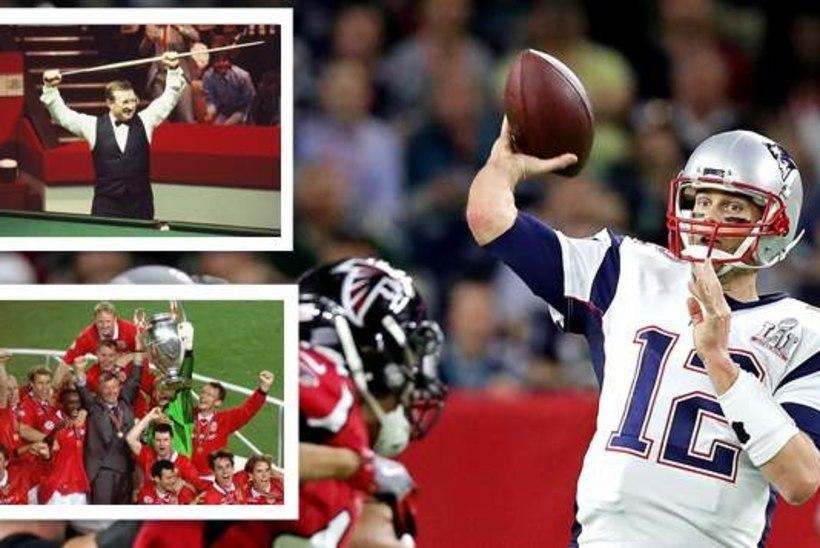 TOP10 | Spordiajaloo vägevaimad come-back'id enne Patriotsi Super Bowli imet!
