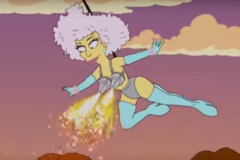 """NAD TEGID SEDA JÄLLE?   """"Simpsonid"""" ennustasid Lady Gaga Super Bowli sõu"""