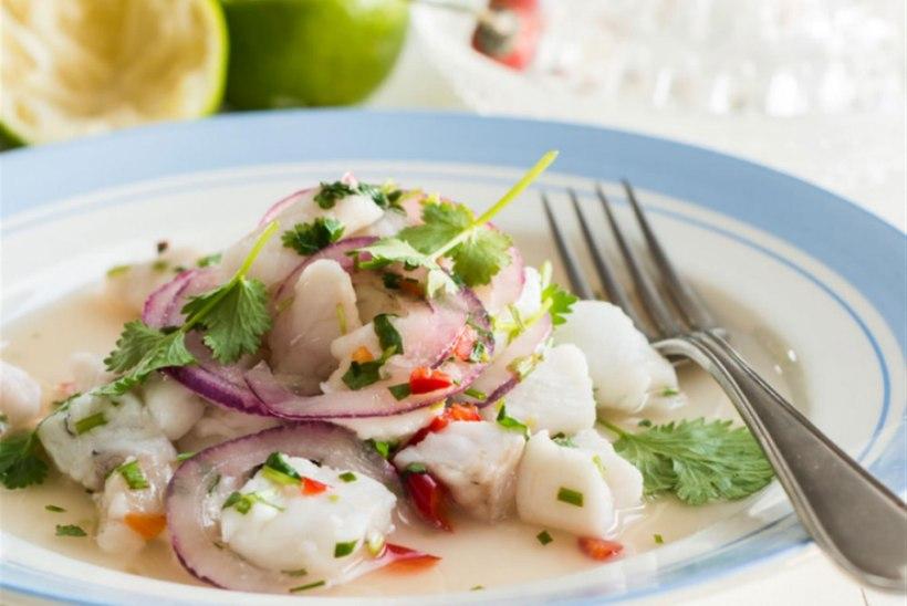 Ceviche ehk laimiga küpsetatud kala