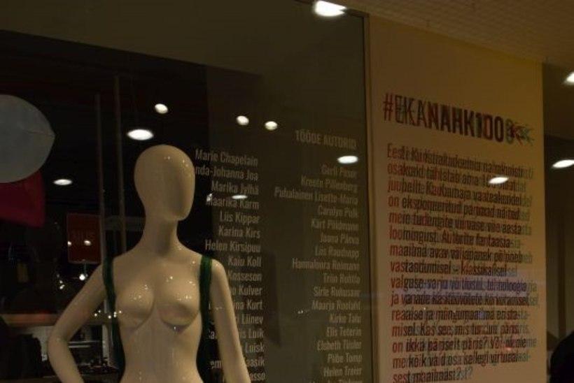75132c6e0df GALERII | Kaubamaja vaateakendel avati omanäoline EKA nahakunsti näitus