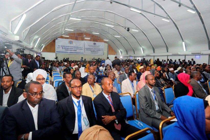 Somaalias valiti lennuangaaris presidenti