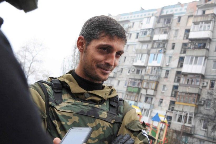 Donetskis hukkus legendaarne komandör Givi