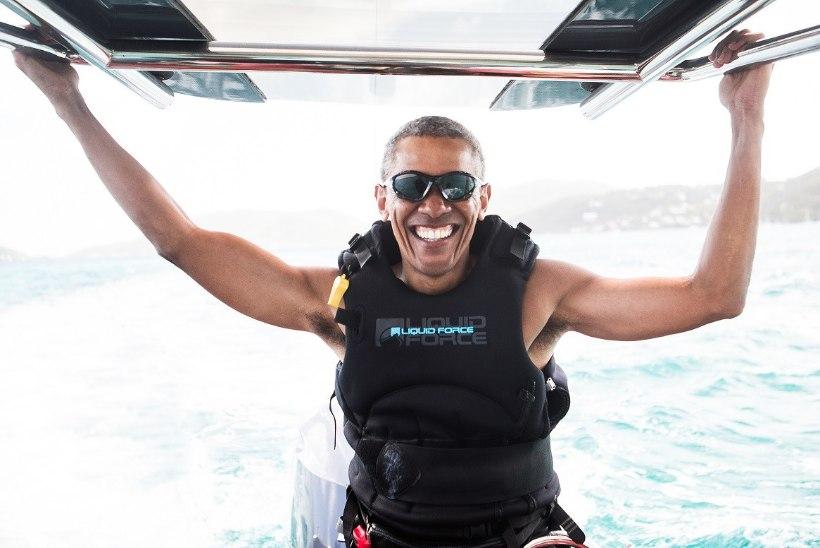 PILTUUDIS | Barack Obama nautis lohesurfi