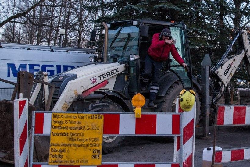 TÄHELEPANU! Alates neljapäeva varahommikust likvideeritakse Pirital veeavariid ja teelõik on liiklusele suletud