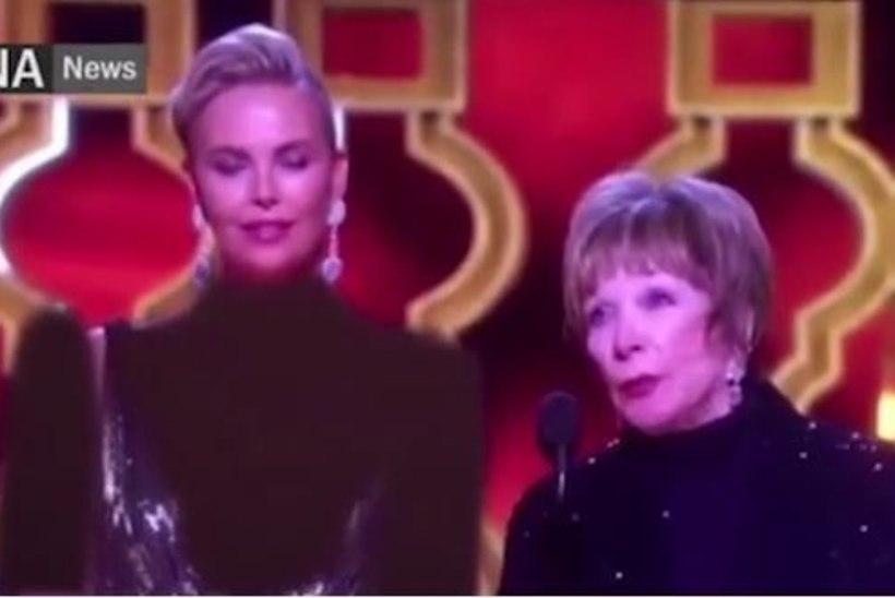 LIIGA SEKSIKAS? | Charlize Theroni Oscarite kleit ja katmata ihu kaeti Iraani televisioonis kinni!