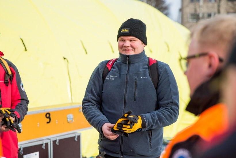 GALERII | Vaata, millega tegelevad Austria päästjad Eestis katastroofiõppustel