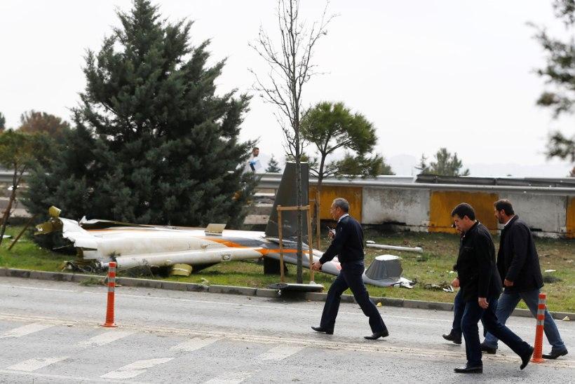 Istanbulis kukkus alla helikopter, hukkus viis inimest